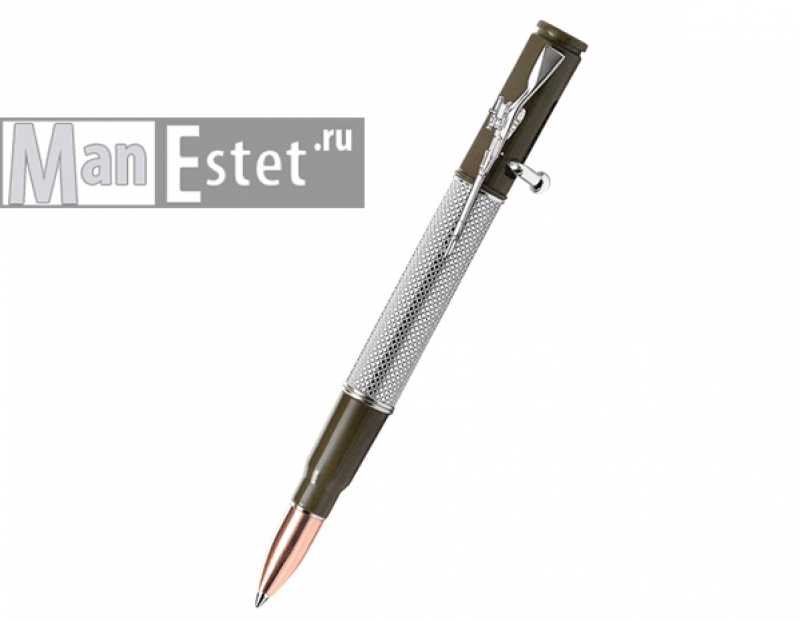 """Ручка шариковая с нажимным механизмом """"винтовка"""" (арт. R012100)"""