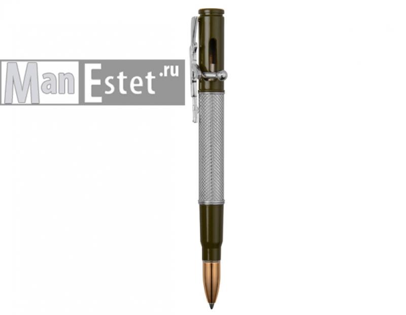 """Ручка шариковая с нажимным механизмом """"АК-74"""" (арт. R013100)"""