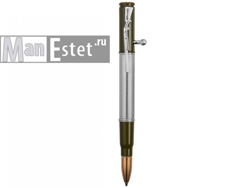 """Ручка шариковая с нажимным механизмом """"ружье"""" (арт. R014100)"""
