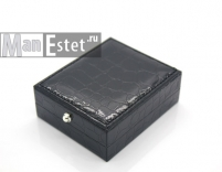 Запонки c кристаллом Purre Elements (арт.CL-5073)