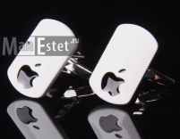 Запонки Apple (арт.CL-5081)