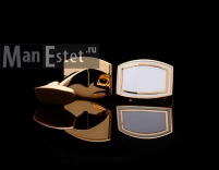 Золотые запонки T.M.LEWIN (арт.CL-4717)
