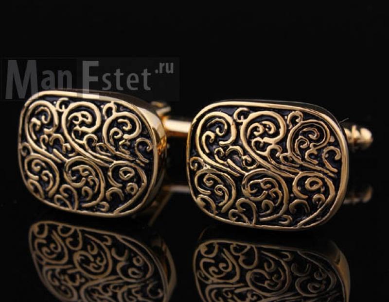 Золотые запонки Vintary (арт.CL-4703)