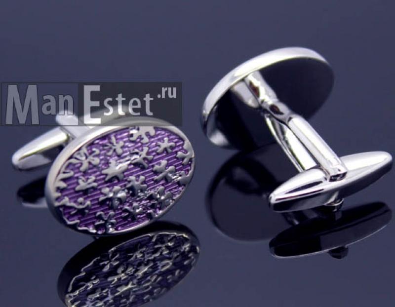 Запонки сталь (арт.CL-5046)