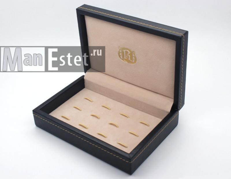 Шкатулка для запонок на 6 пар (арт.CL-7001)