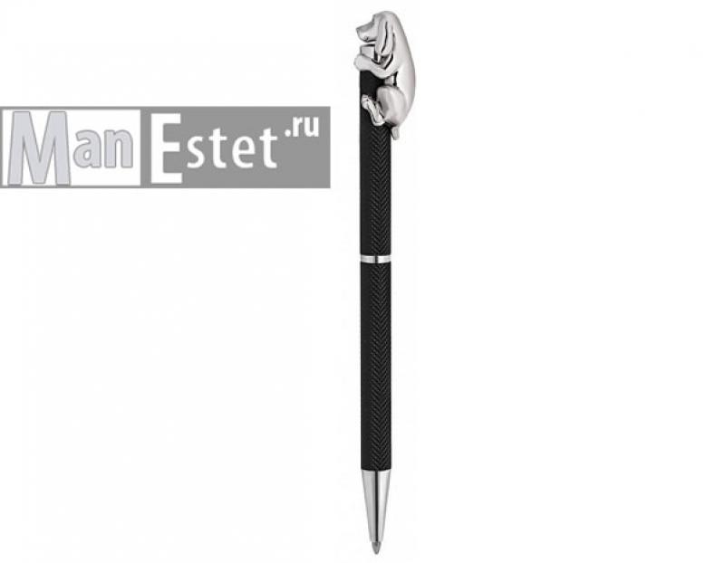 Ручка женская из серебра с поворотным механизмом (арт. R070121)