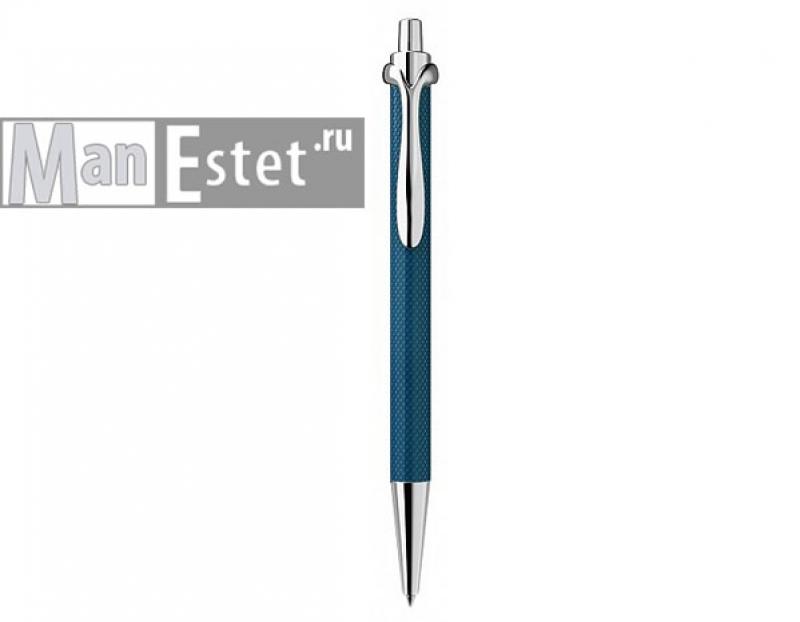 Ручка роллер из серебра с нажимным механизмом (арт. R005102)