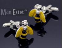 Запонки Bee
