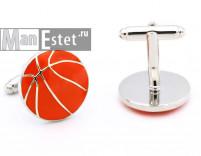 Запонки Баскетбольный мяч