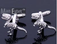 Запонки dinosaur Reks