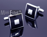 Запонки сталь (арт.CL-5013)