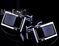 Запонки стальные Gran Carro