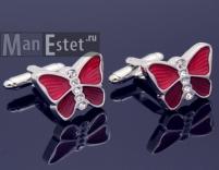 Запонки butterfly (бабочка) арт.CL-5232