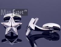 Запонки звезды (StarSteel) арт.CL-5339