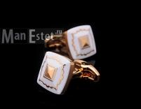 Золотые запонки T.M.LEWIN (арт.CL-4716)