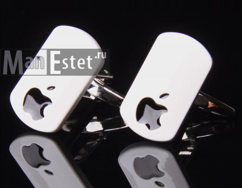 Запонки Apple (арт.CL-5312)