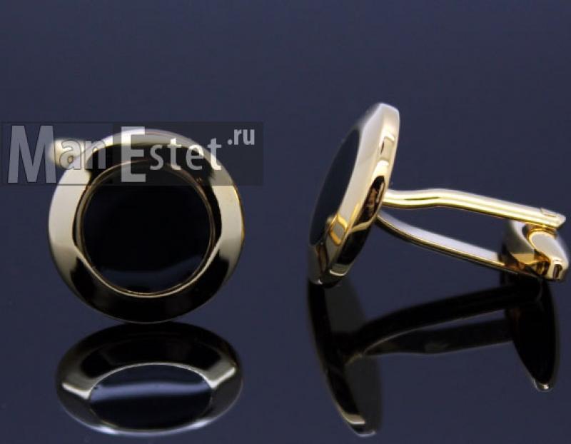 Золотые запонки (арт.CL-4734)