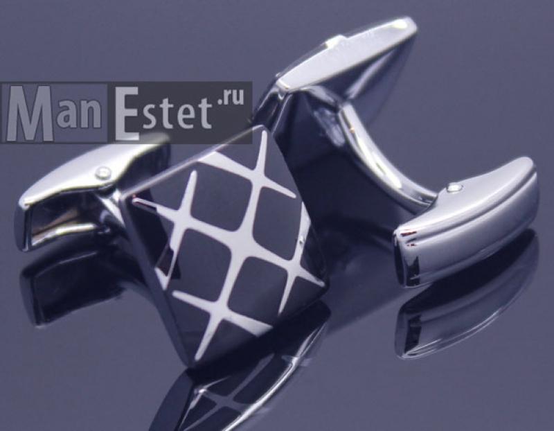 Запонки сталь (арт.CL-5214)