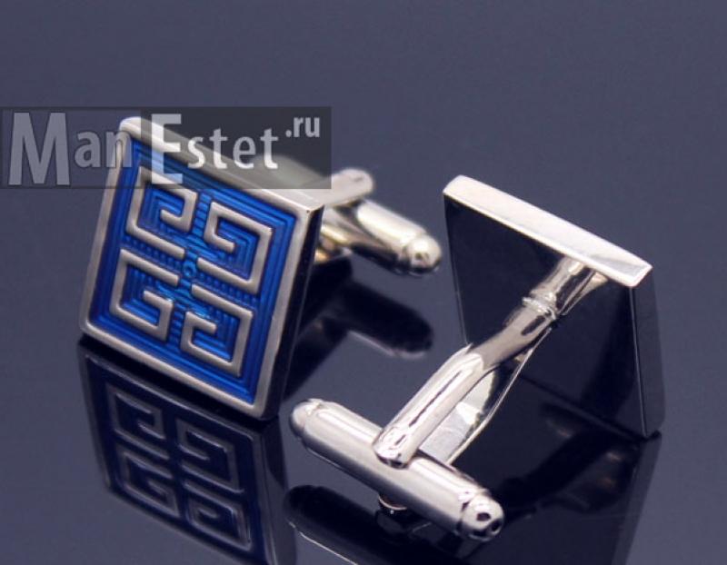 Запонки стальные Givenchy replica (арт.CL-5343)