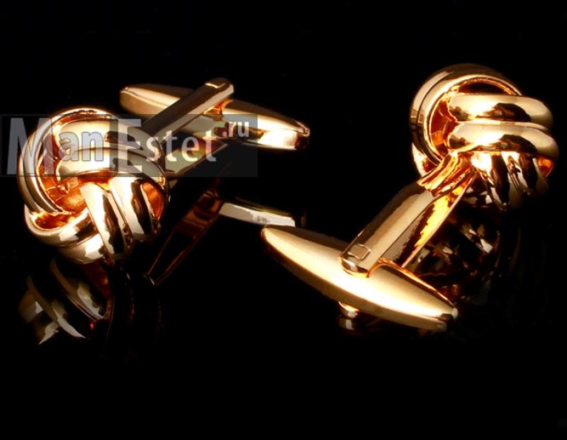 Золотые запонки Ambassador